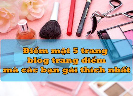 blog trang điểm